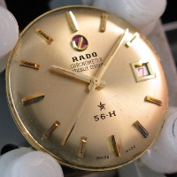 later gold dial and hands of 56-H B